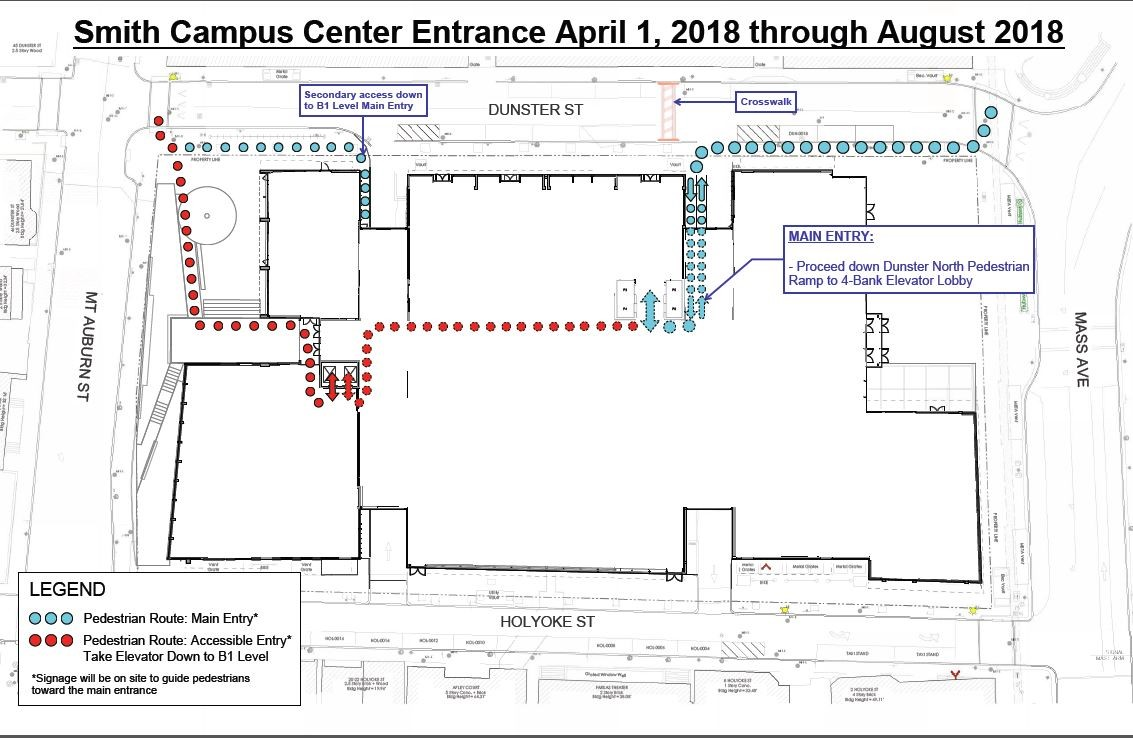 New Smith Center Entrance Illustration